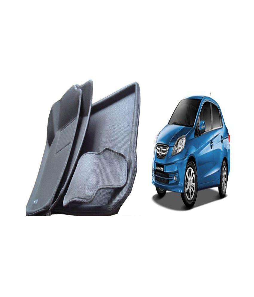 autokart 3d mat floor mat foot mats car mat black colour for honda amaze buy autokart 3d. Black Bedroom Furniture Sets. Home Design Ideas