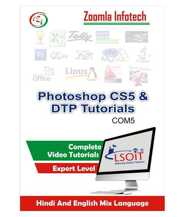 Dtp tutorials ( photoshop 7, corel draw x3, pagemaker) + photoshop.