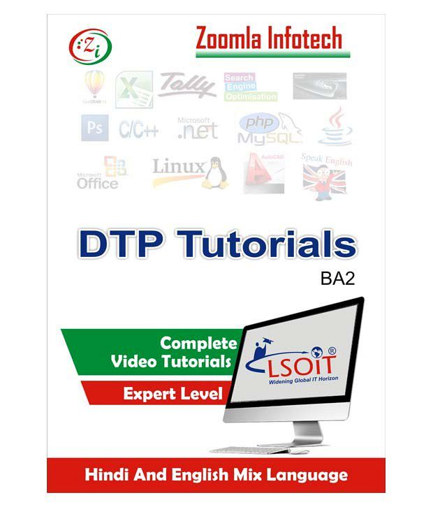 Zoomla Infotech Buy Photoshop 7 Corel Draw X3 Pagemaker