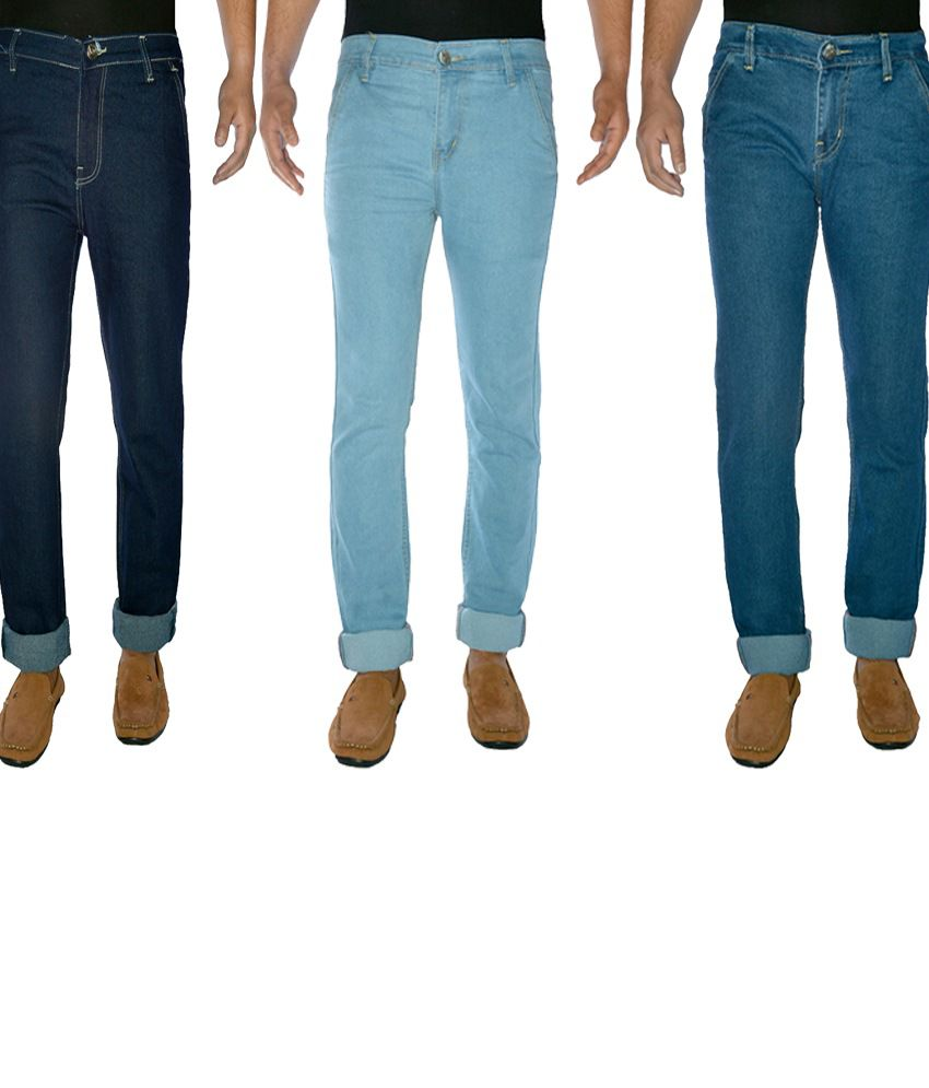 Western Texas Comfort Fit JeansFor Men