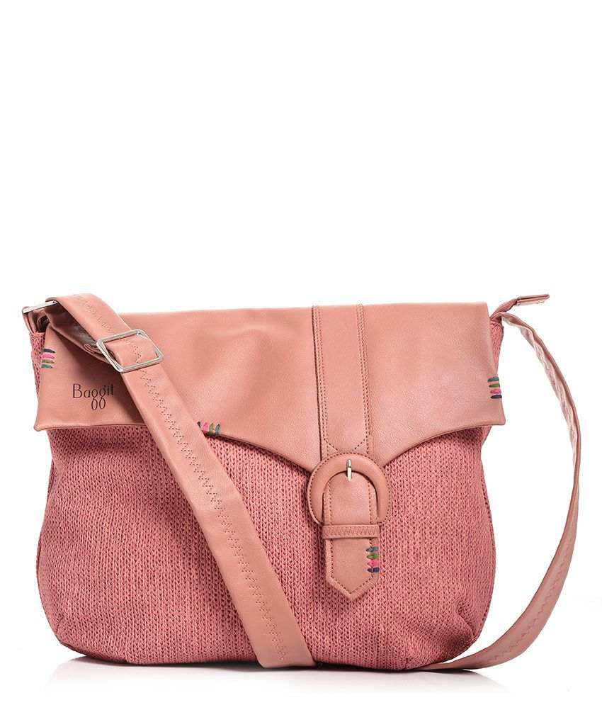 f2ce681d95 Baggit PeachPuff Sling Bag - Buy Baggit PeachPuff Sling Bag Online at Best  Prices in India on Snapdeal