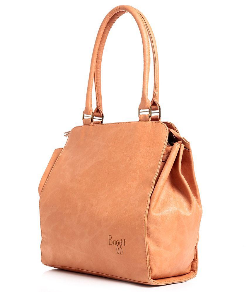 Baggit Beige Shoulder Bag - Buy Baggit Beige Shoulder Bag Online ...