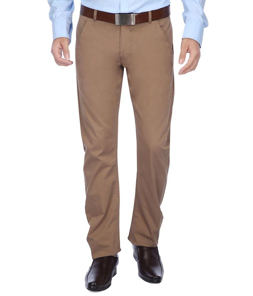 Vettorio Fratini Brown Formal Trouser