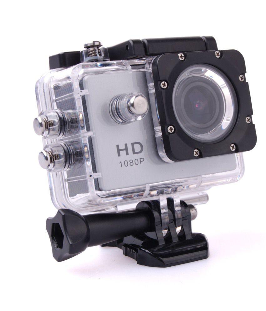 Yolodesi Sports Action Camera 12 Megapixel With Wifi White Price ...