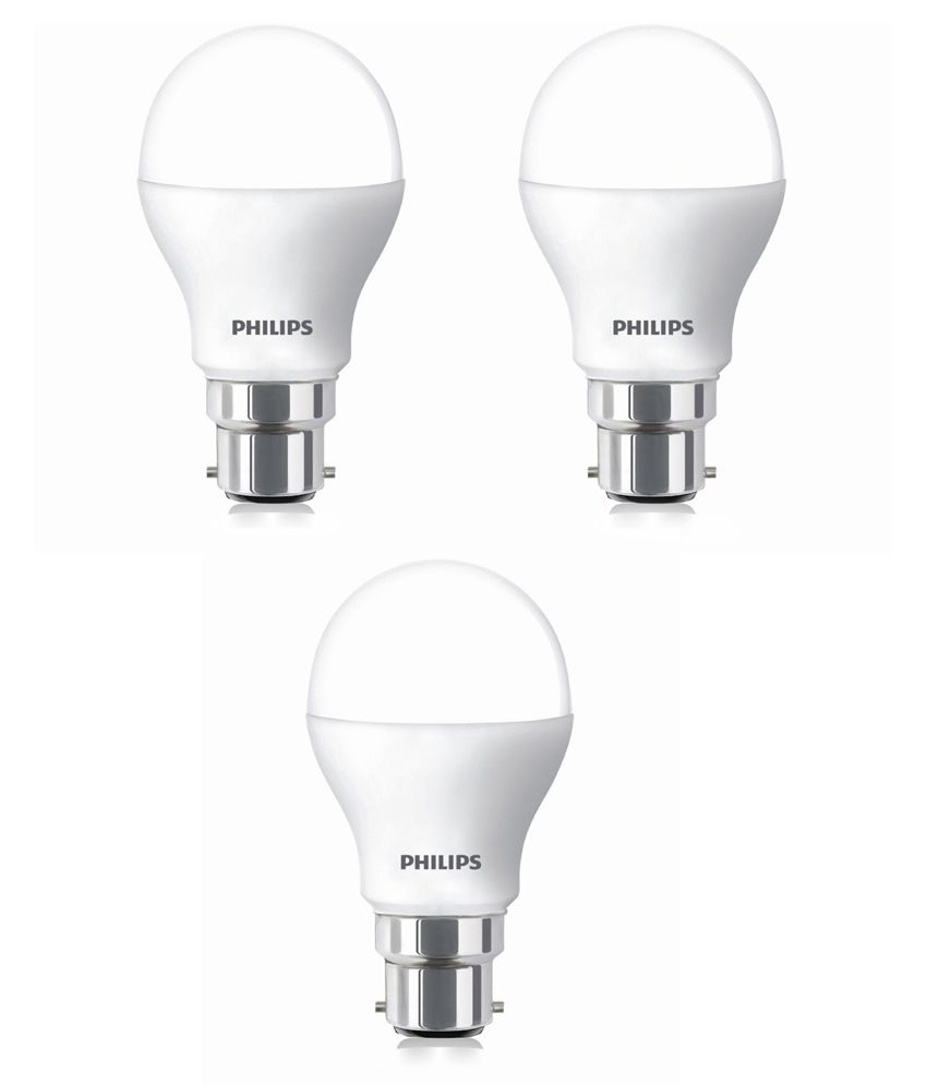 Philips Led Pack Of 3 Led Bulb Bulbs