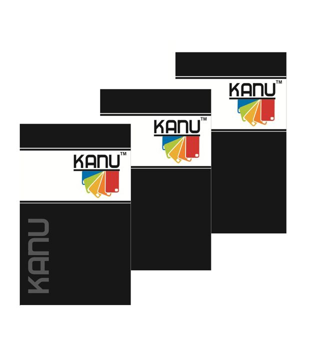 Kanu Pack Of 3 Clear Screen Guard For Xolo Q 600