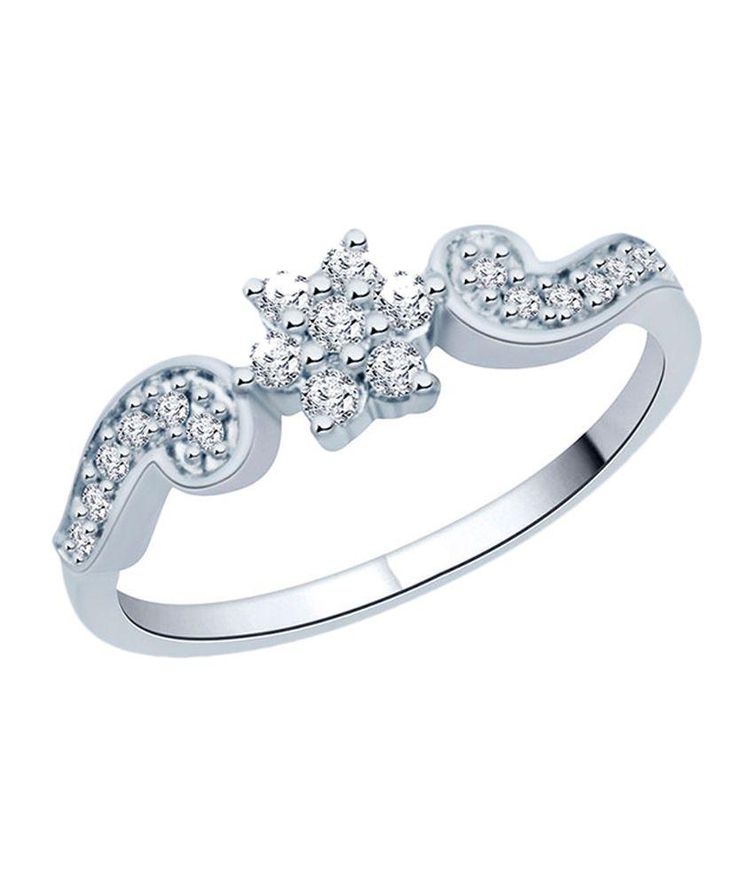 Mirrar Floral Design Diamond Ring