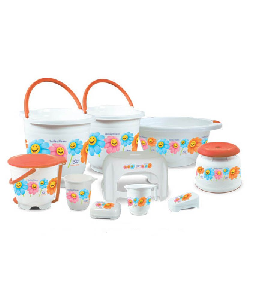 Buy Princeware Deluxe Bath Set Pack Of 10 Online At Low Price In