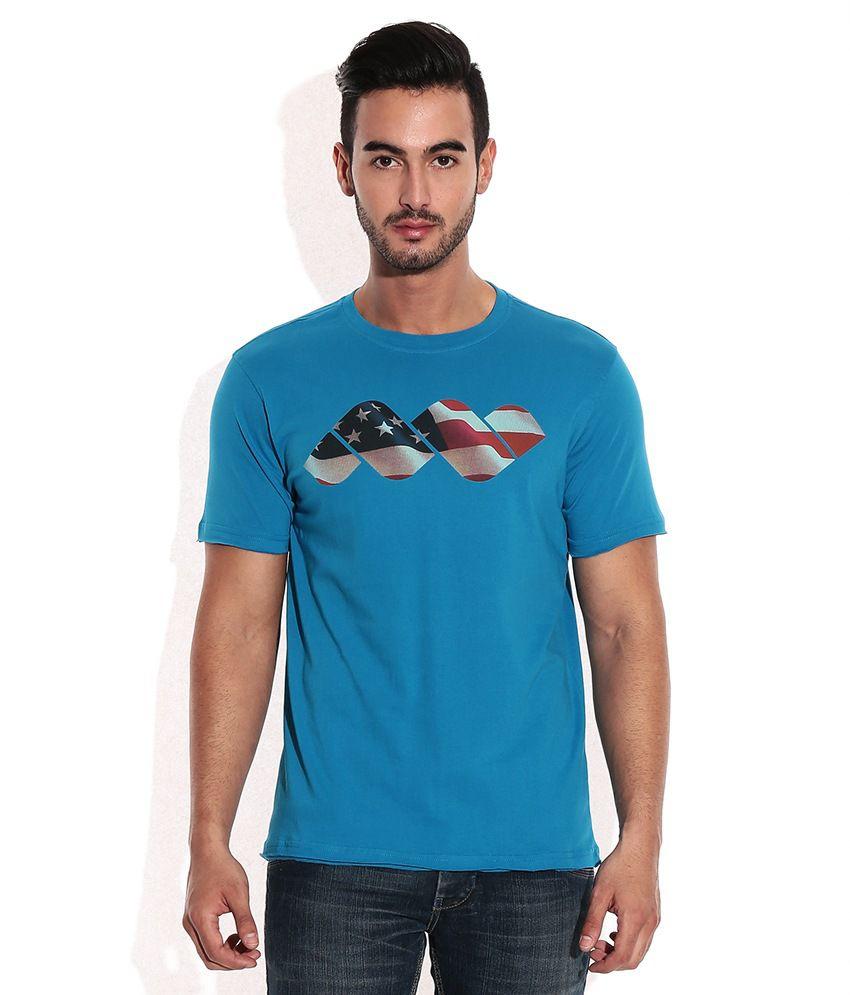 Spunk Blue Aqua T-Shirt