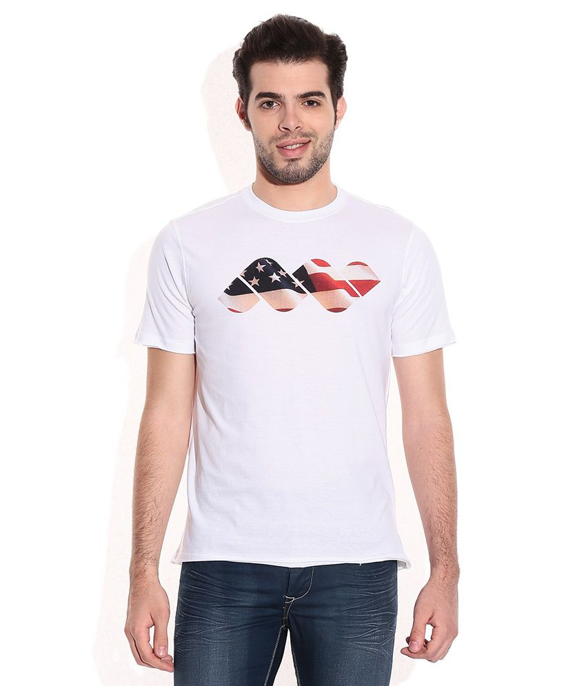 Spunk White T-Shirt