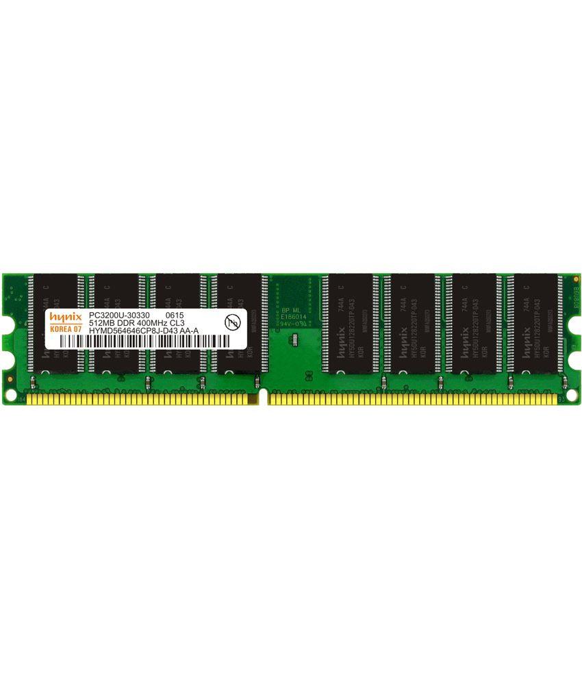Hynix Desktop Ddr1 512 Mb 400 Mhz Ram
