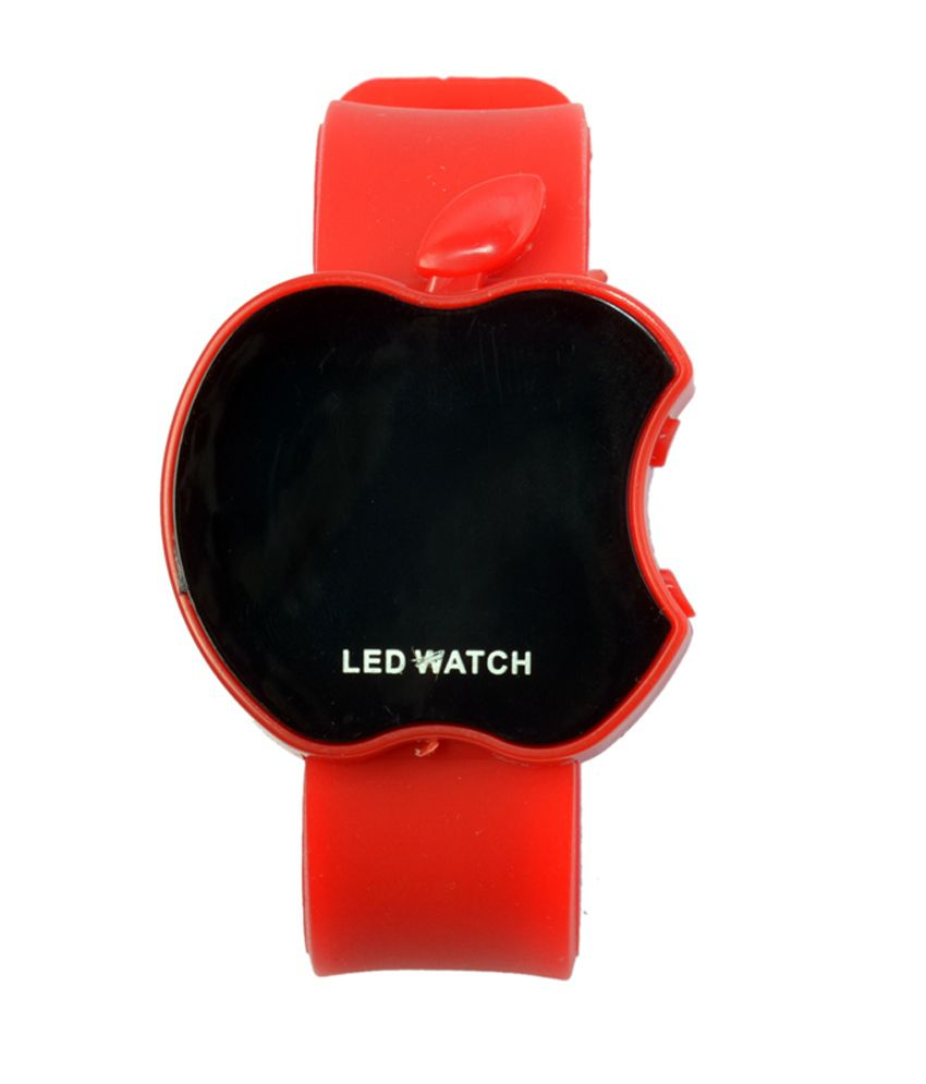 Rays Artz Rays Artz Led Apple Shape Red Color Kids Watch