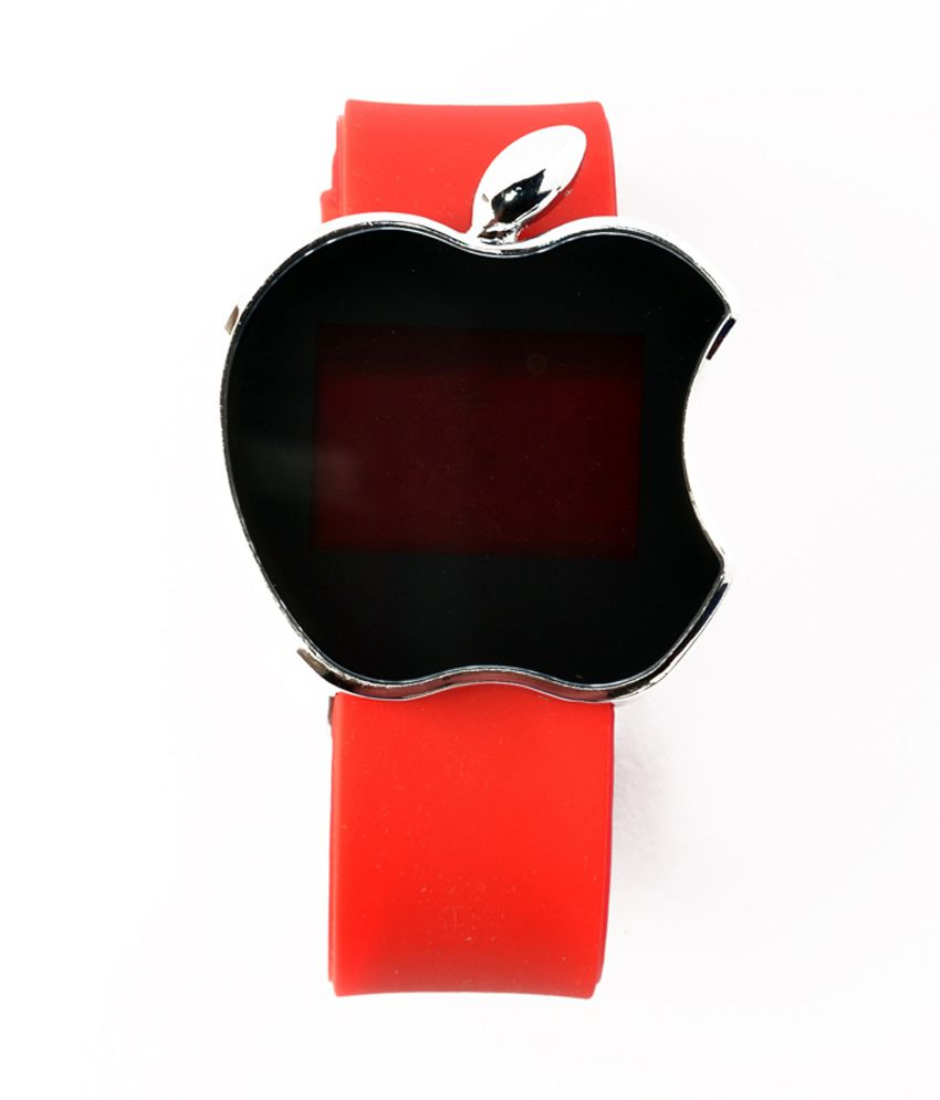 Rays Artz Led Apple Shape Red Color Kids Watch Price in ...