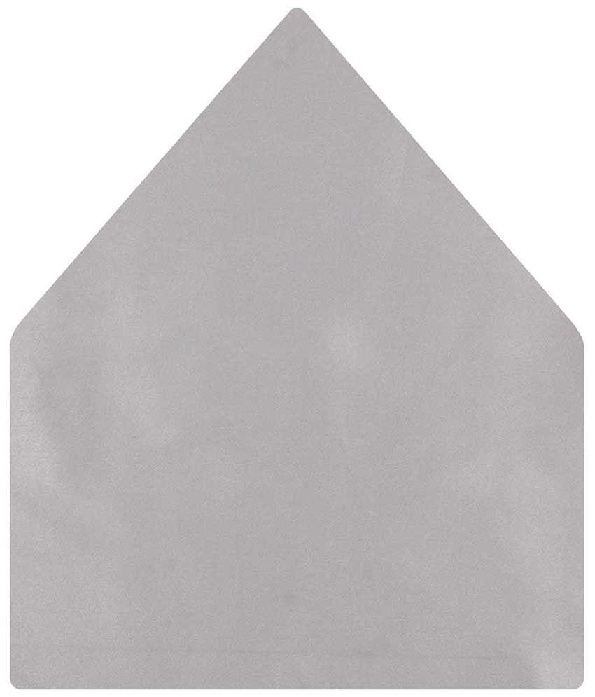 Tiekart Satin Gray Pocket Square
