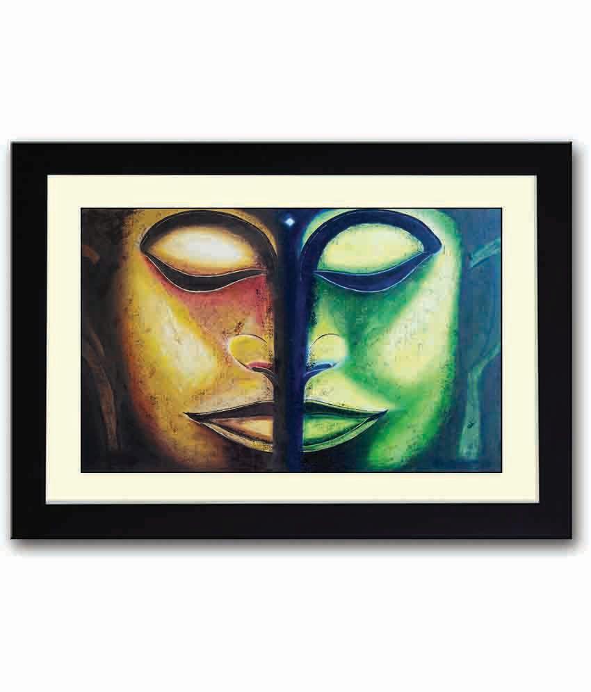 Artifa Artistic Painting Marvelous Wooden Framed Poster