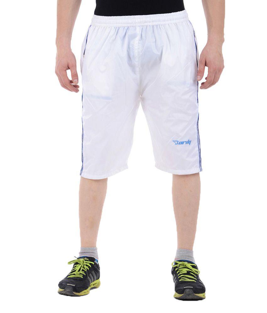 Burdy White Polyester 3/4Th