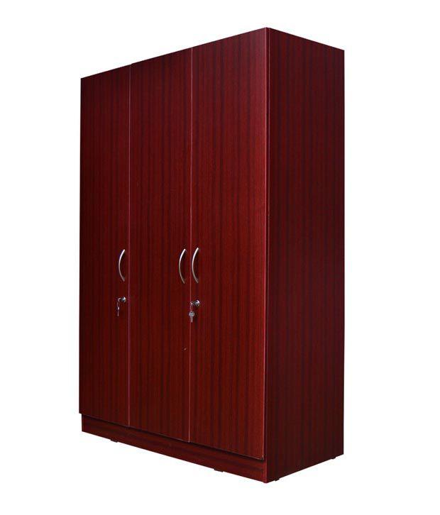 Eco 3 door wardrobe buy online at best price in india on for Eco doors