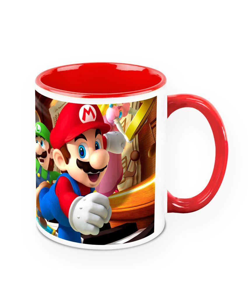 HomeSoGood Mario Ceramic Mug
