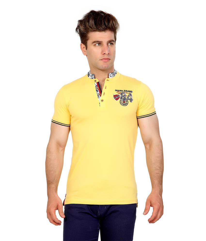 Maniac Yellow Tiered stand collar