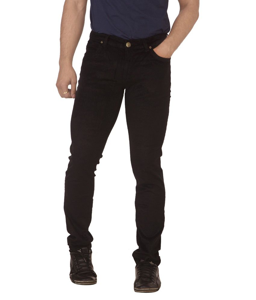 Race-Q Black Jeans For Men