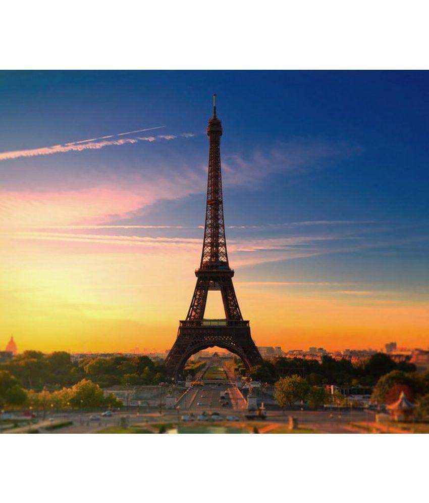 Wonder Images Pvt. Ltd. Paris Love Canvas Art