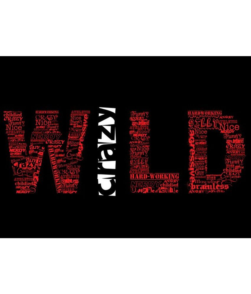 Wonder Images Pvt. Ltd. Wild And Crazy Canvas Art
