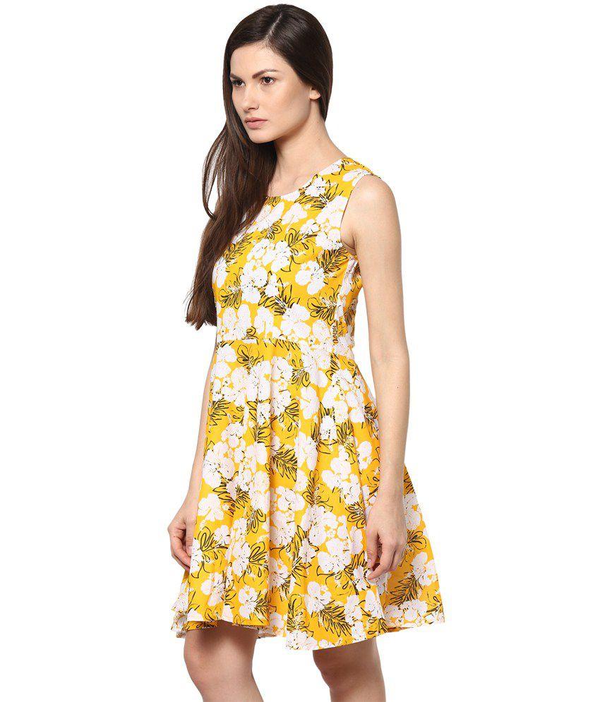 018612852b0e Abiti Bella Yellow Cotton Dresses - Buy Abiti Bella Yellow Cotton ...