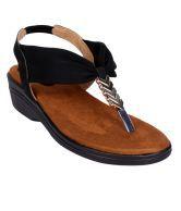 Karizma Women's Designer Black Heel Sandal Heels