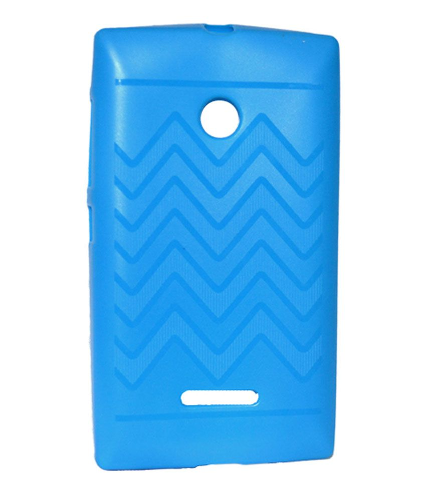 Cell First Designer Back Cover For Microsoft Lumia 532 Blue Plain Back Covers Online At Low