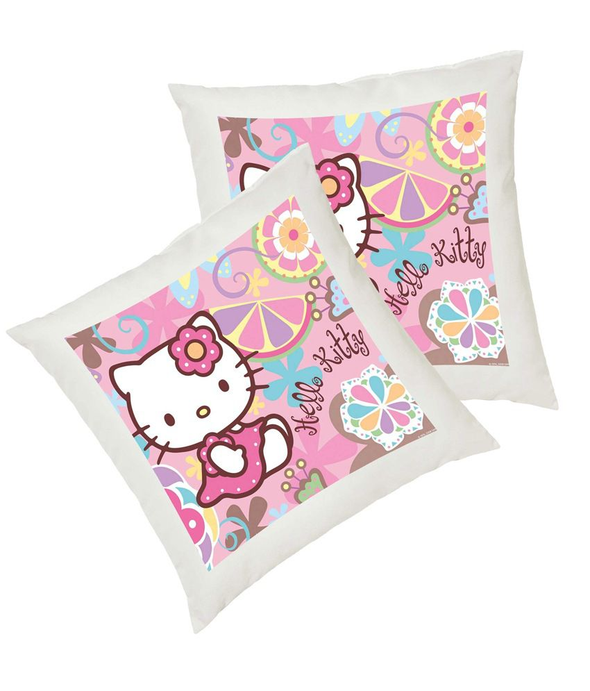 Snooky Colorful Digitally Printed 2Pcs Cushion Covers