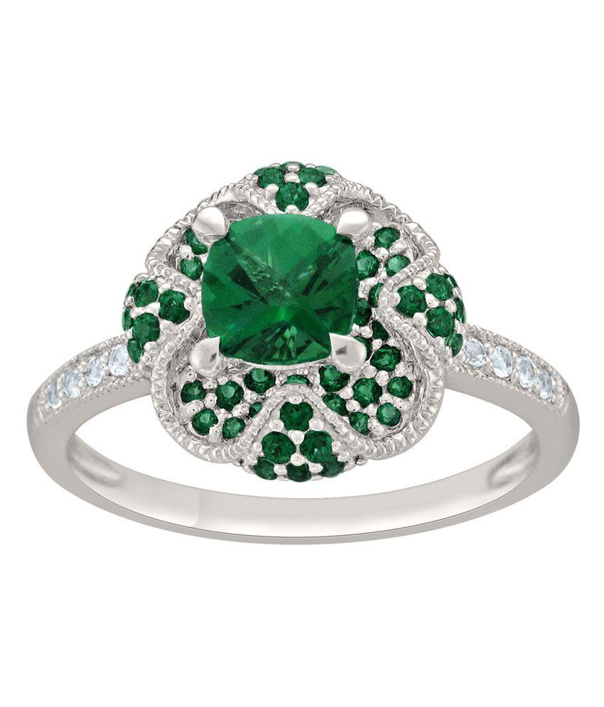 Tara Jewellers 925 Sterling Silver Designer Ring