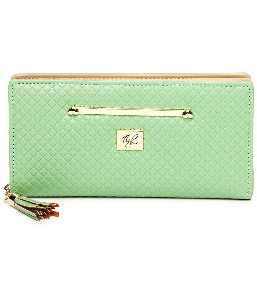 NYK Women's P.U. Wallet - Green