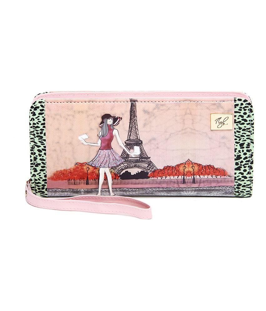 NYK Women's P.U. Wallet - Pink