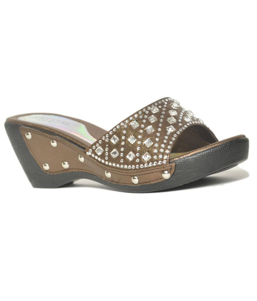 Ninelifestyle Silver Wedding Wedges For Women