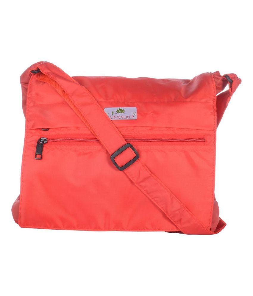 Rainwalker Red Utility Bag