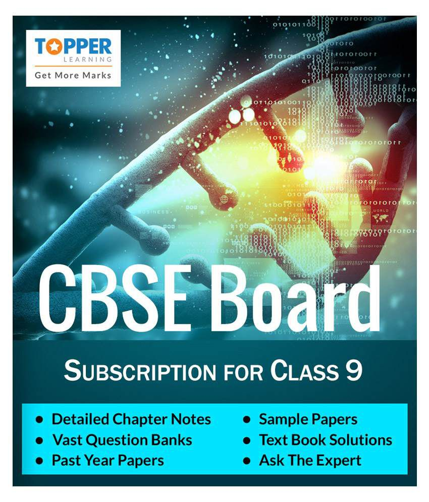 TopperLearning Annual Online Subscription for CBSE Board Class 9