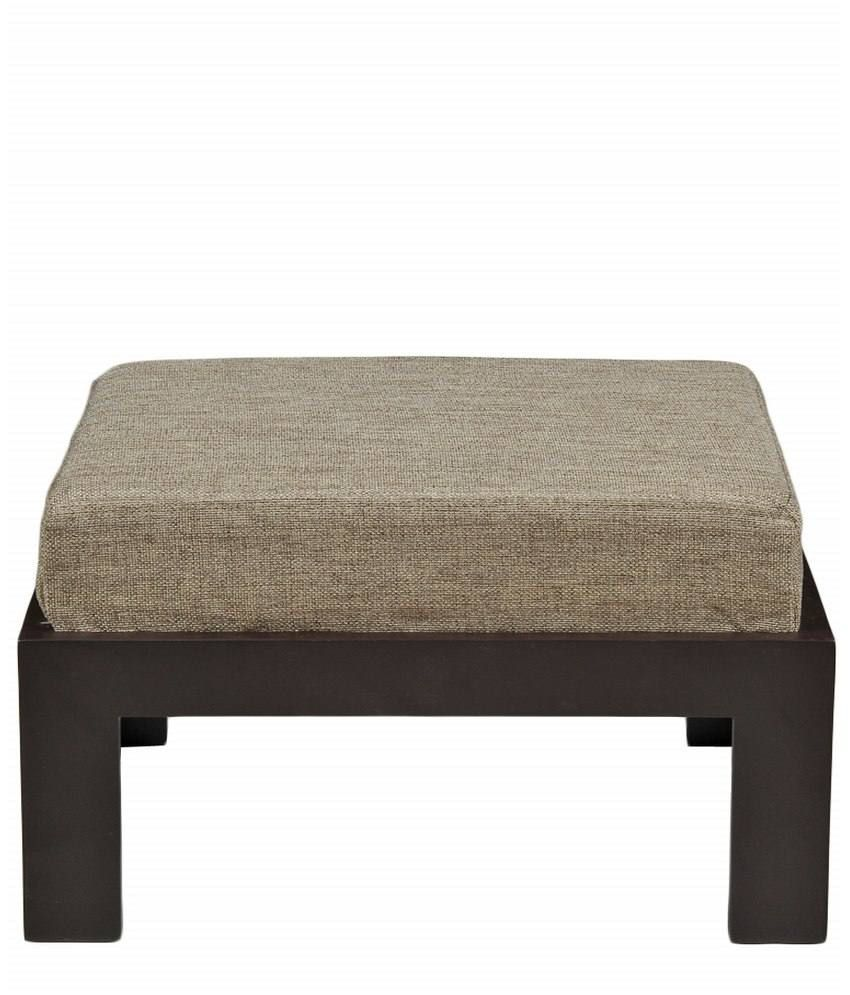 Buy Low Height Solid Coffee Table By Wood Dekor Online: ARRA Trendy Coffee Table With Four Stools