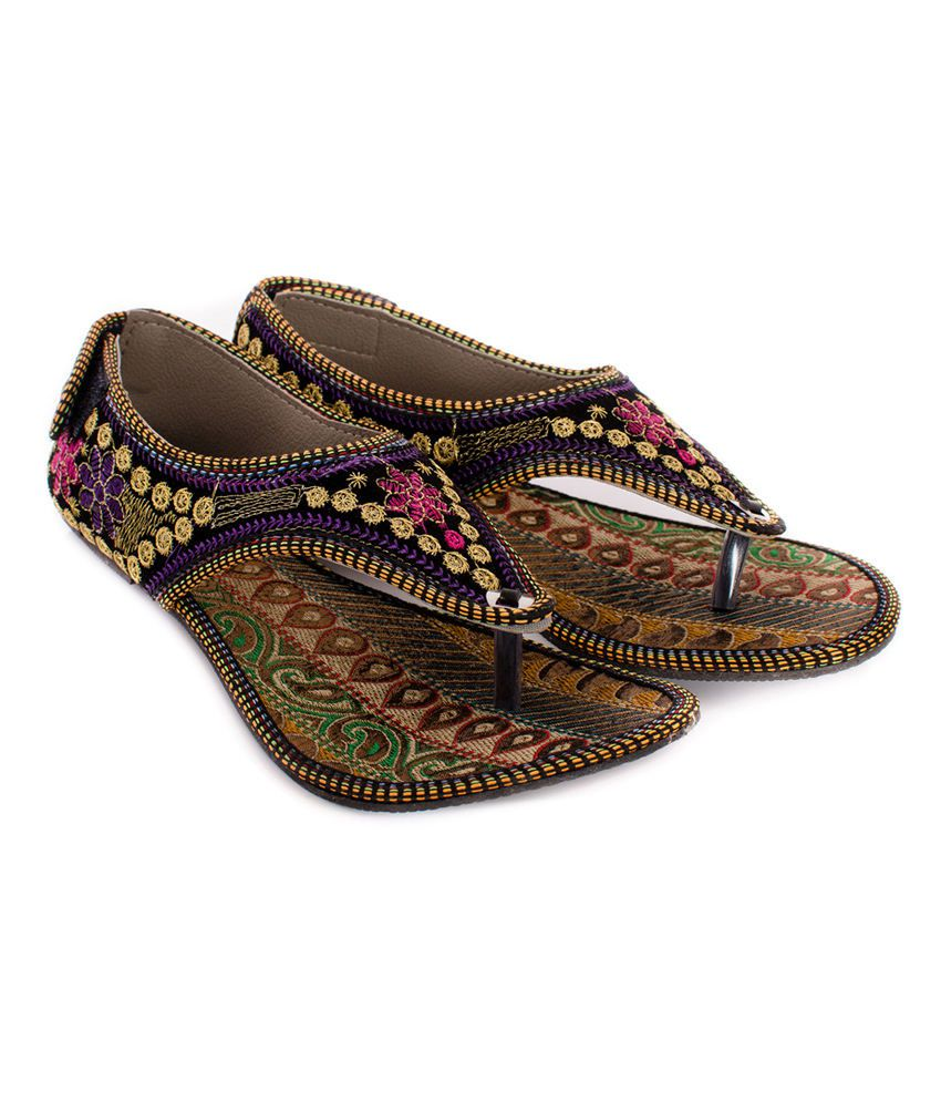 Myra Multicolor Beautiful Ethnic Sandal