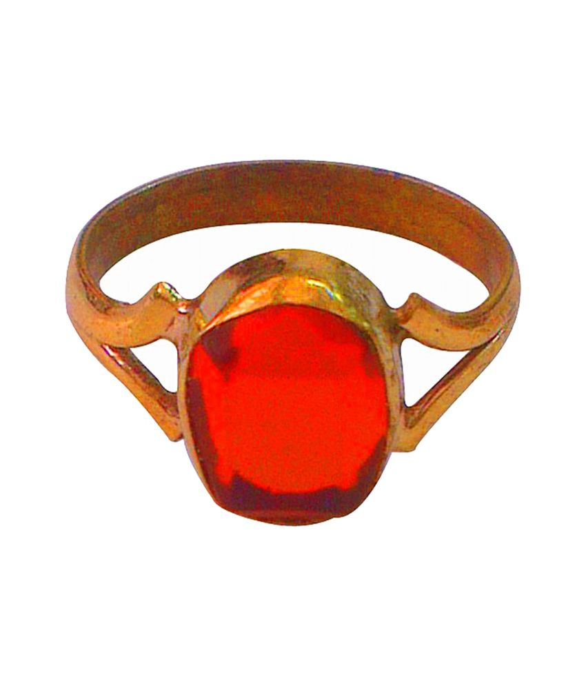 Asian Gems & Jewels Cultured Hessonite / Gomed Finger Ring (Panch Dhaatu) Of 4.25 Ratti