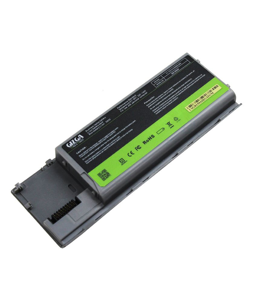 GIZGA (USA) 6 Cell Laptop Battery for Dell Latitude D620 with Original Cells