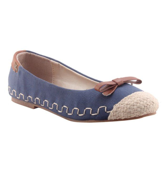 HM Blue Back Open Round Toe Sandal