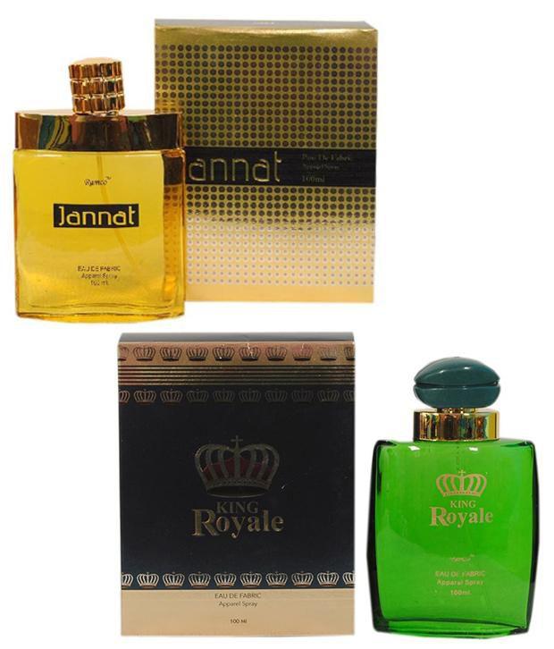Ramco Jannat Eau De Fabric and King Royale Eue De Fabric Ap...