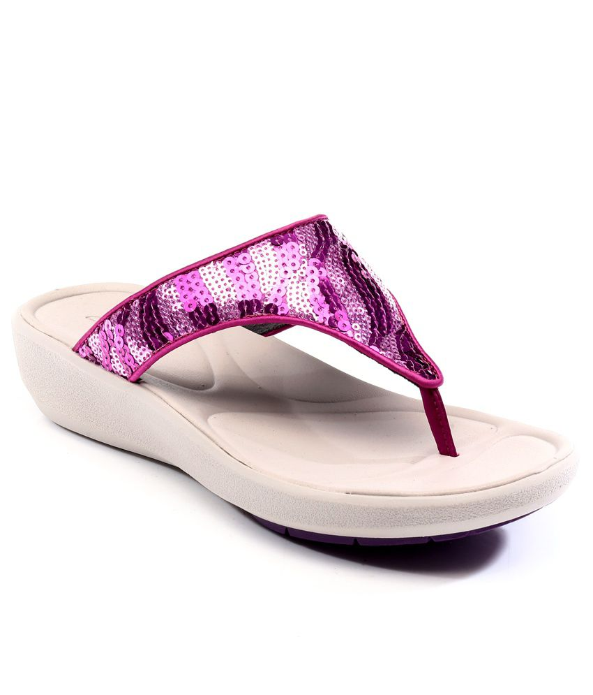 9530c3488c04d Clarks Wave Dazzle Pink Sandals Price in India- Buy Clarks Wave Dazzle Pink  Sandals Online at Snapdeal