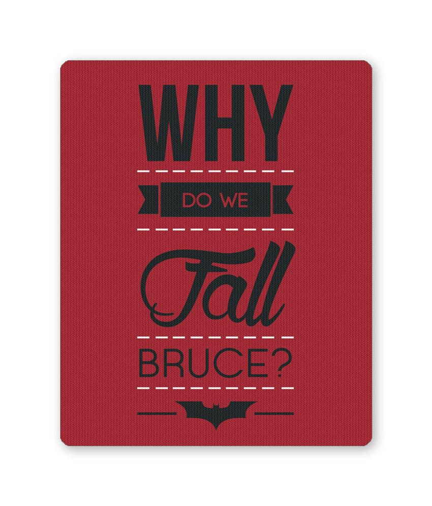 Posterguy Why Do We Fall Bruce Dark Knight Inspired Alfred Quote