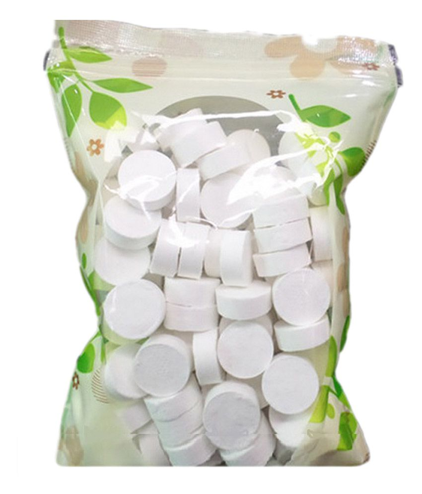 Magic Tablet Commpressed Napkin/Coin Tissue paper 100 Pieces