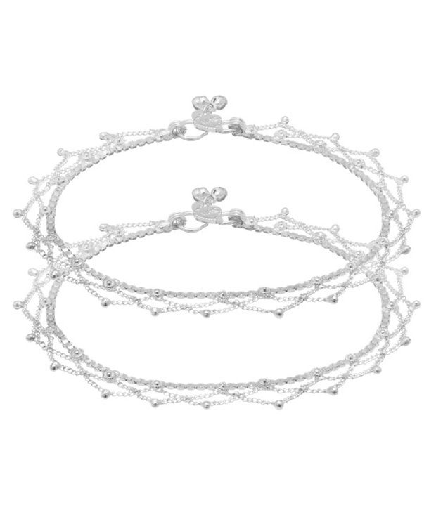 Voylla Graceful Style Diva Pair Of Anklets