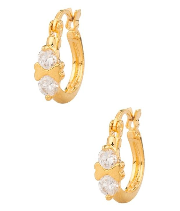 Voylla Magnificent Style Diva Hoop Earrings
