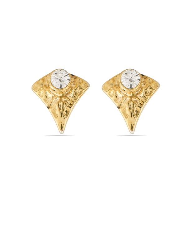 Voylla Trendy Style Diva Stud Earrings