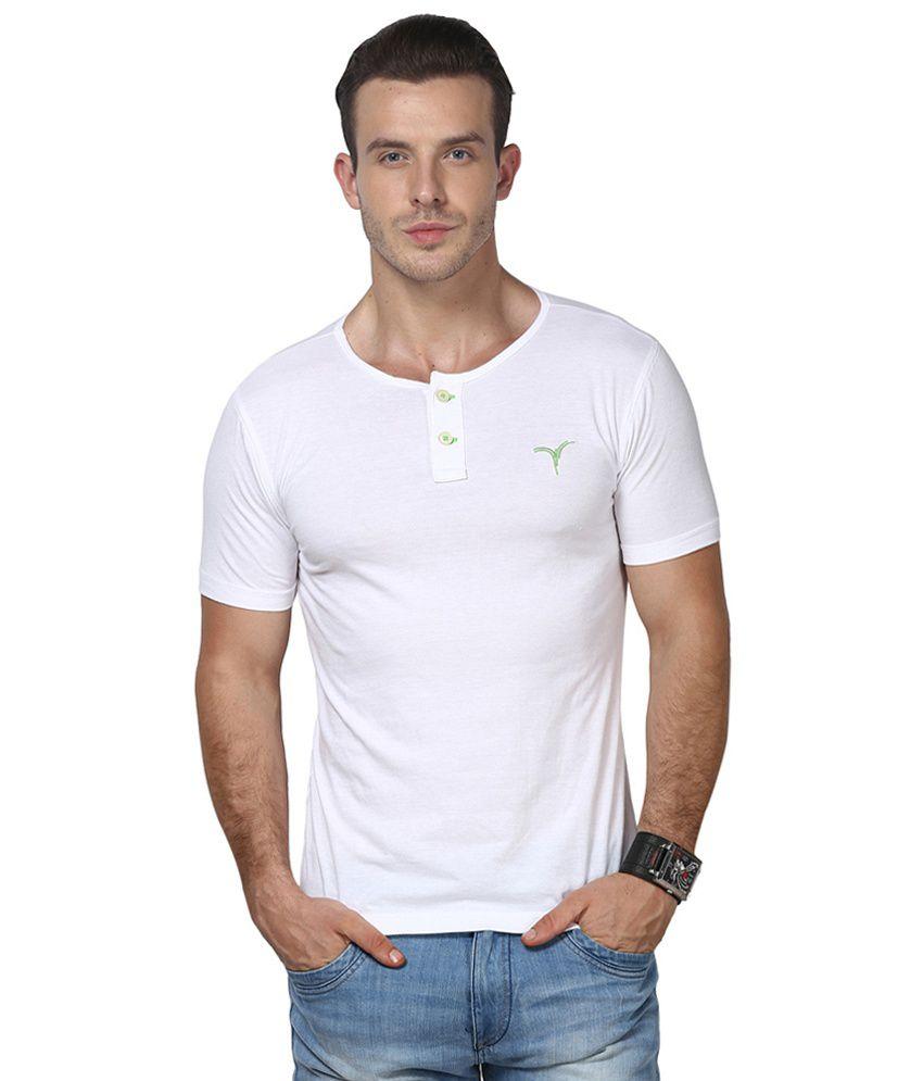 Monteil & Munero Half Sleeve T-Shirt White