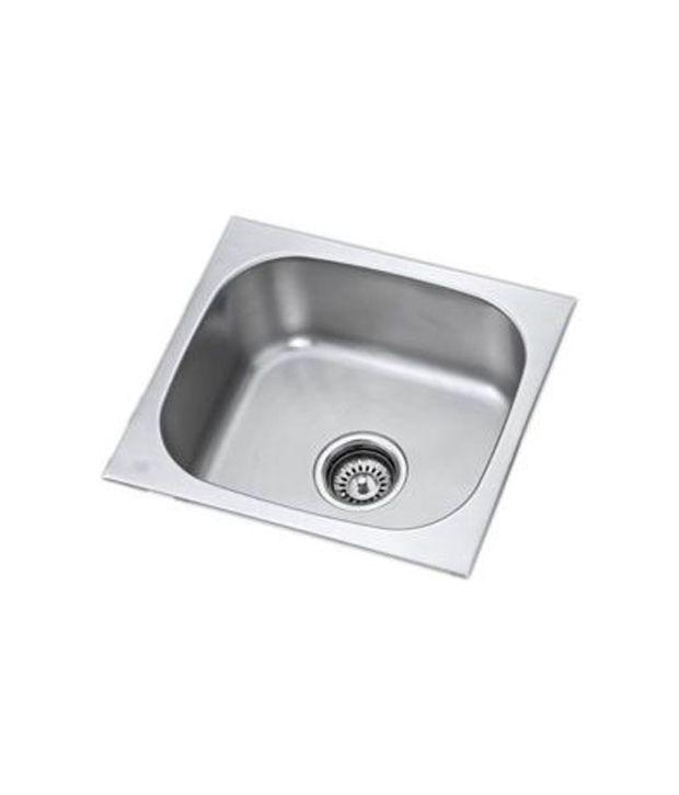 Tata Stainless Steel Kitchen Sink 18x16x8